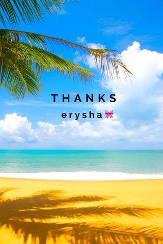 THANKS erysha🎀