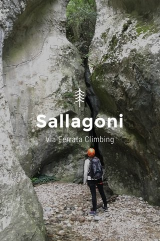 Sallagoni Via Ferrata Climbing