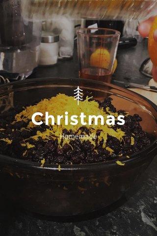 Christmas Homemade