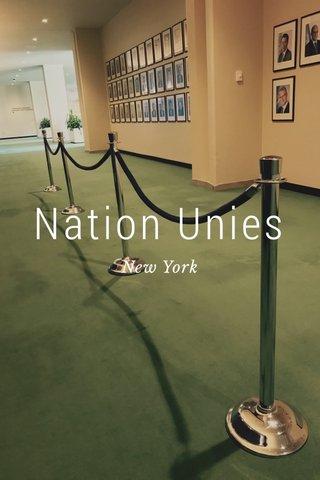 Nation Unies New York
