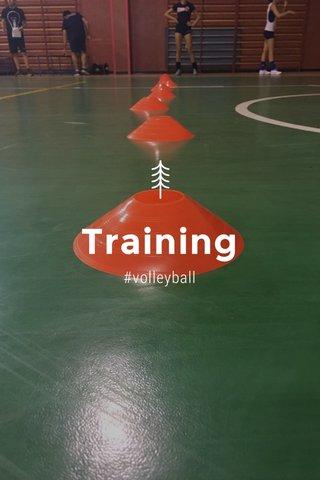 Training #volleyball
