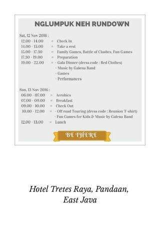Hotel Tretes Raya, Pandaan, East Java