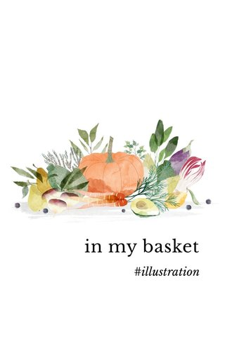 in my basket #illustration