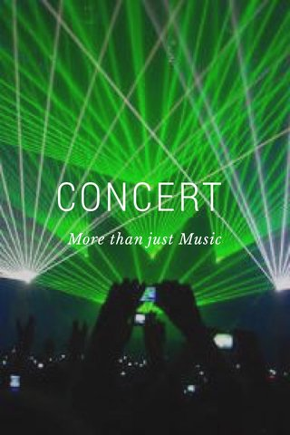CONCERT More than just Music