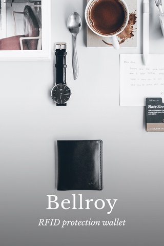 Bellroy RFID protection wallet