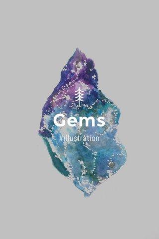 Gems #illustration