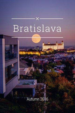 Bratislava Autumn 2016