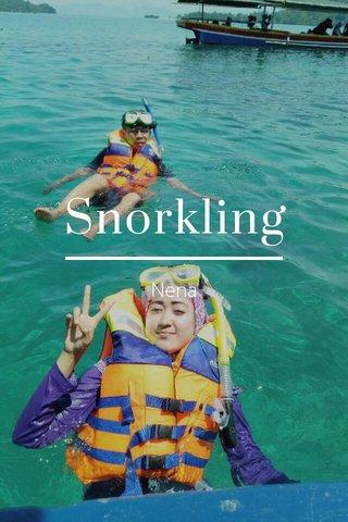 Snorkling Nena