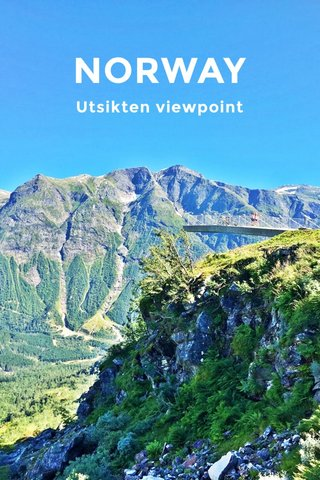 NORWAY Utsikten viewpoint
