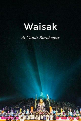 Waisak di Candi Borobudur