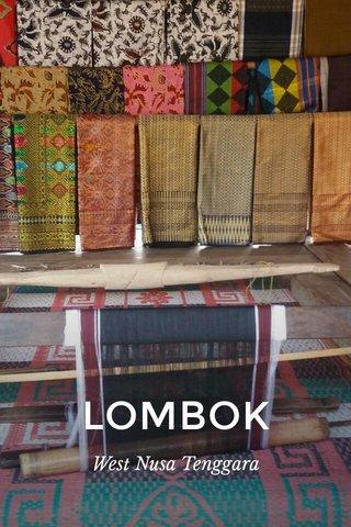 LOMBOK West Nusa Tenggara