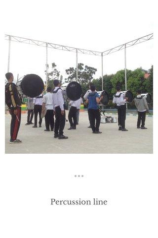 Percussion line