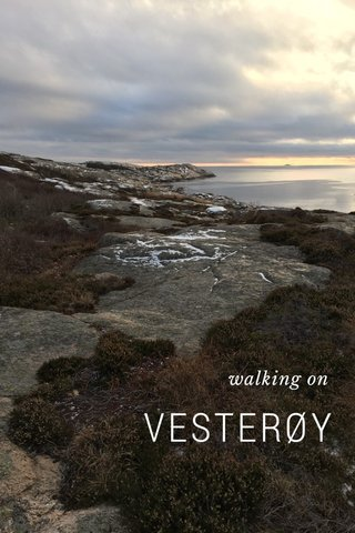 VESTERØY walking on