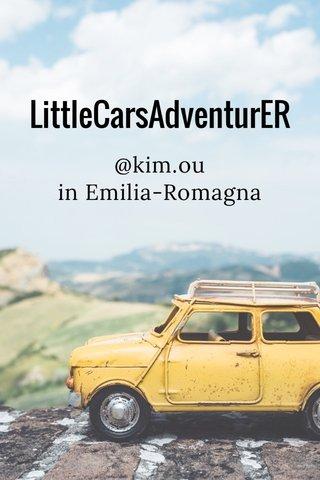 LittleCarsAdventurER @kim.ou in Emilia-Romagna