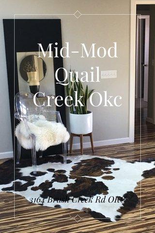 Mid-Mod Quail Creek Okc 3164 Brush Creek Rd OKC