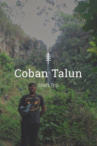 Coban Talun Short Trip