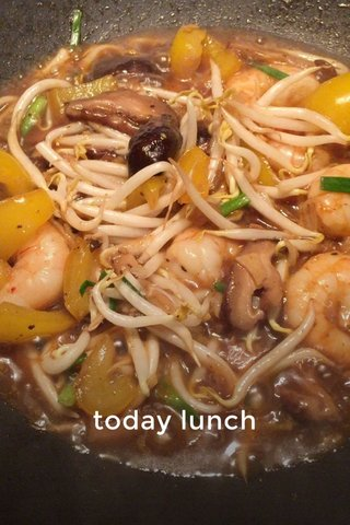 today lunch