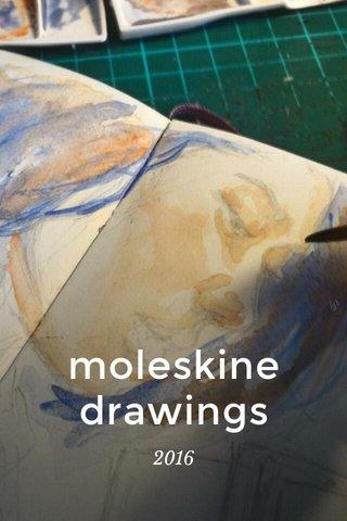 moleskine drawings 2016