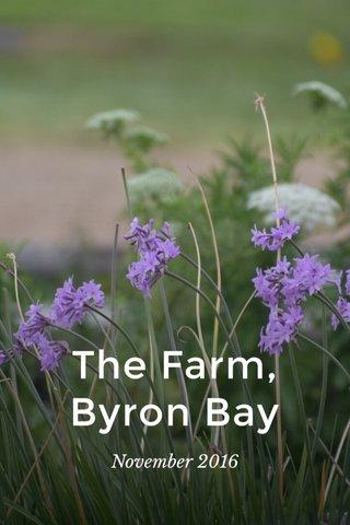 The Farm, Byron Bay November 2016
