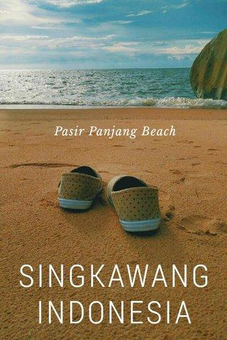 SINGKAWANG INDONESIA Pasir Panjang Beach