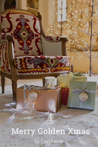 Merry Golden Xmas by CasaFacile