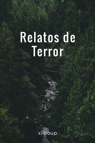 Relatos de Terror xiiboup