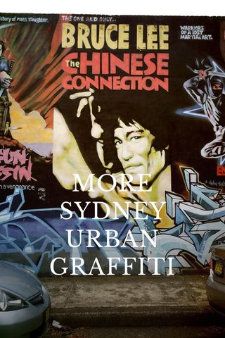 MORE SYDNEY URBAN GRAFFITI