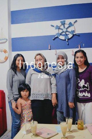 Indonesia Family