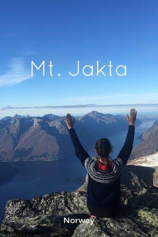 Mt. Jakta Norway