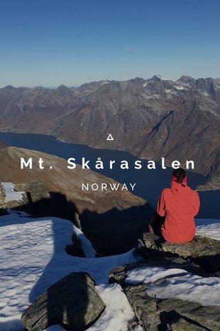Mt. Skårasalen NORWAY