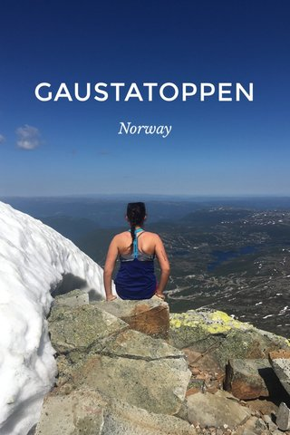 GAUSTATOPPEN Norway