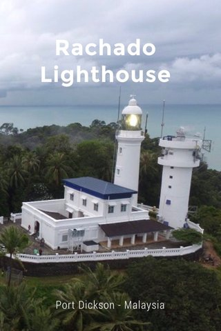 Rachado Lighthouse Port Dickson - Malaysia