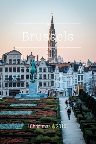 Brussels I Christmas🎄2016 |