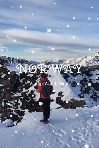 NORWAY Winter Wonderland