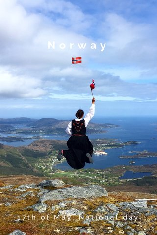 Norway 🇳🇴 17th of May, National day