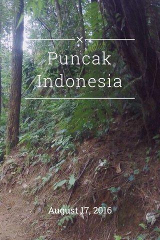 Puncak Indonesia August 17, 2016