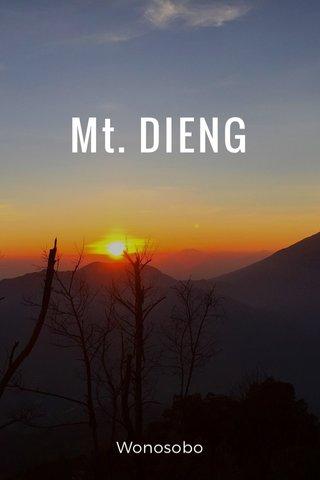 Mt. DIENG Wonosobo