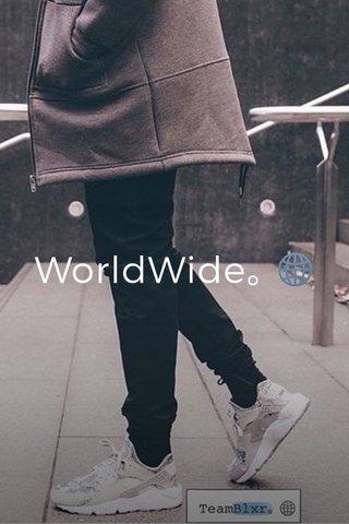 WorldWide。🌐