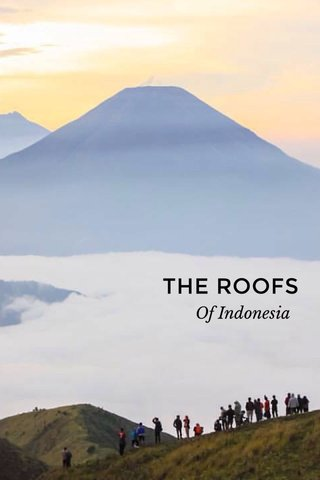 THE ROOFS Of Indonesia