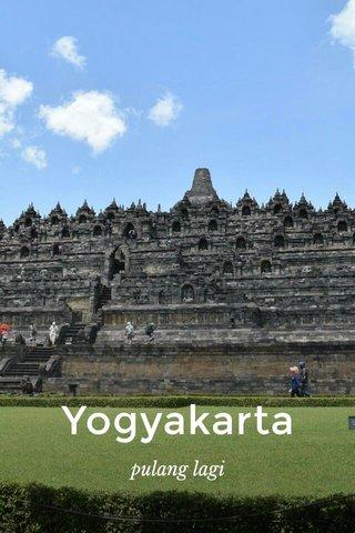 Yogyakarta pulang lagi