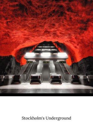 Stockholm's Underground