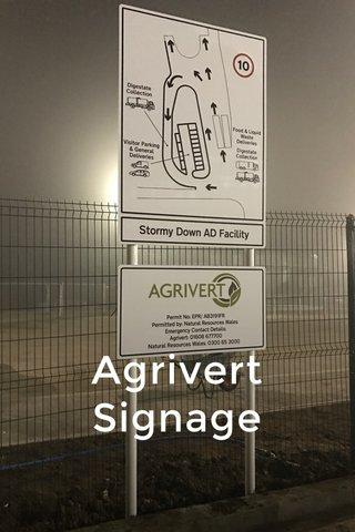Agrivert Signage
