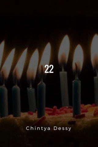 22 Chintya Dessy