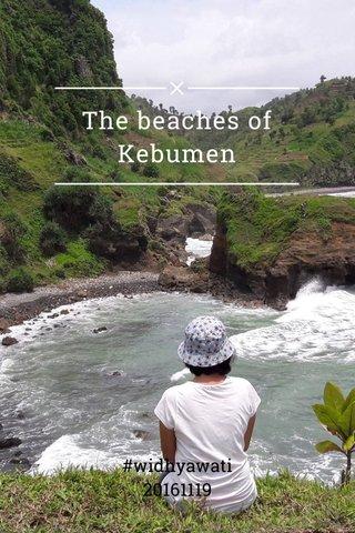 The beaches of Kebumen #widhyawati 20161119