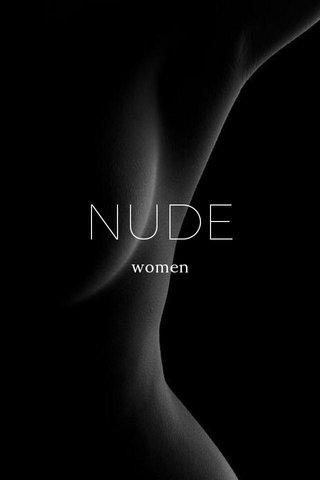 NUDE women