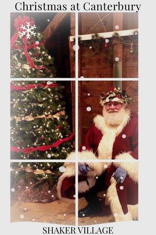 Christmas at Canterbury SHAKER VILLAGE