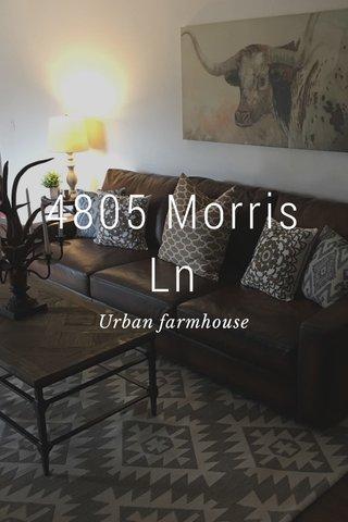 4805 Morris Ln Urban farmhouse