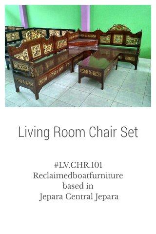 Living Room Chair Set