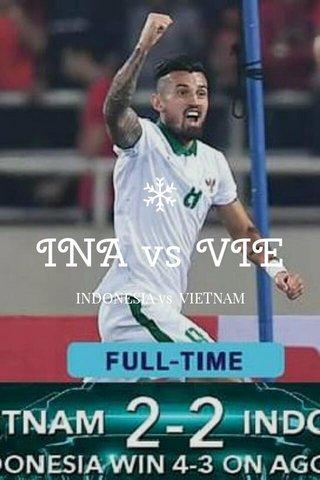 INA vs VIE INDONESIA vs VIETNAM