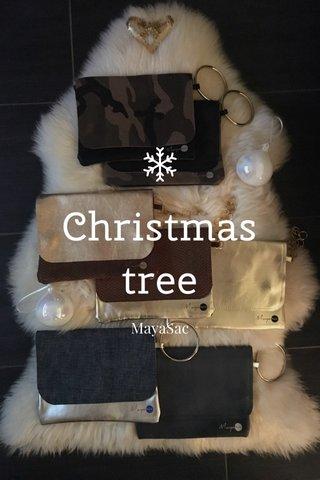 Christmas tree MayaSac